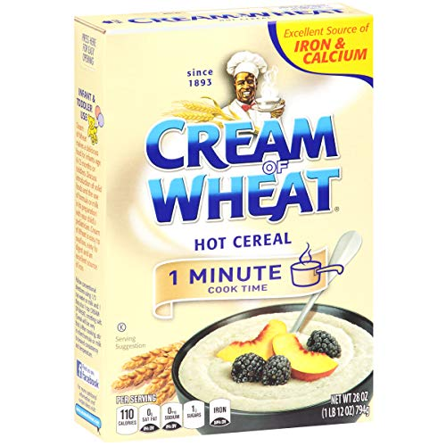 Cream of Wheat Original Stove Top Hot Cereal, 1 Minute Cook Time, 28 Ounce