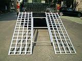 Tri-Fold Ramp Aluminum 71'' X 51'' 1200#
