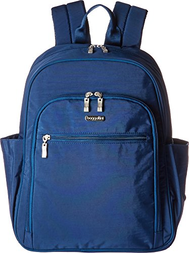 - Essential Laptop Backpack with RFID Messenger Bag, Pacific, One Size