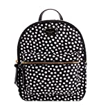 Kate Spade Wilson road musical dots small bradley Nylon Backpack 10''x9''x3''
