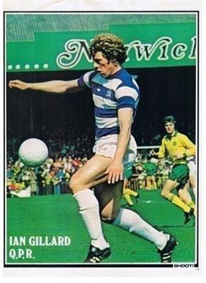 SHOOT QPR Queens Park Rangers IAN GILLARD Football Player Magazine Picture