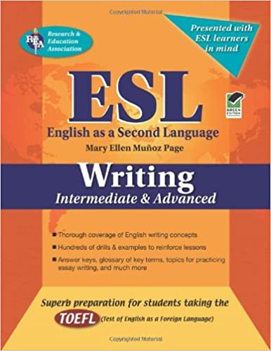 Amazoncom Esl Intermediateadvanced Writing English As A Second  Esl Intermediateadvanced Writing English As A Second Language Series  Kindle Edition