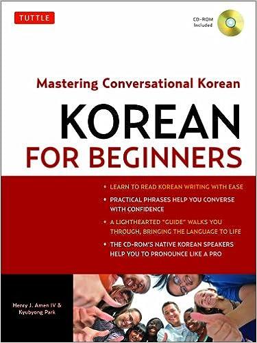 Korean for Beginners: Mastering Conversational Korean (CD-ROM ...
