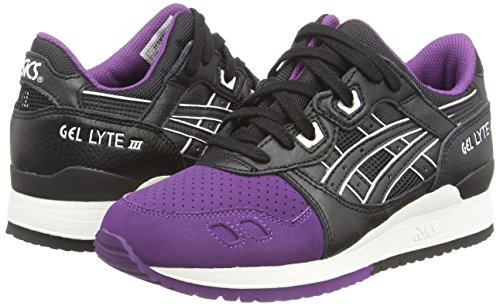 Iii black adulto 3390 Scarpe Viola Asics purple Gel lyte Sportive Unisex wE141Zgqx