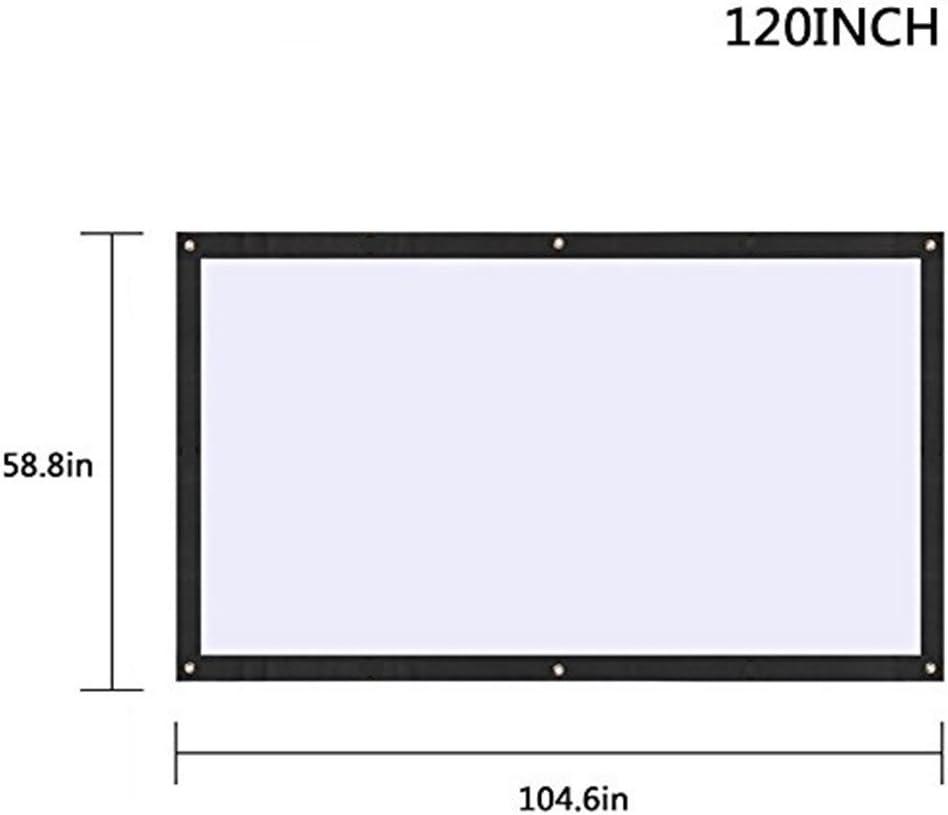 BigFamily Pantalla del proyector, 120