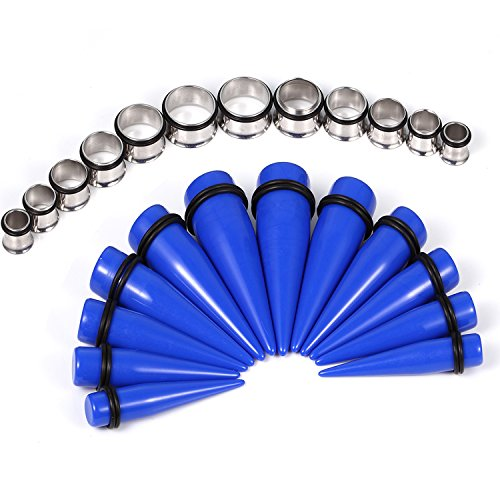 BodyJ4You 24PCS Tapers and Plu