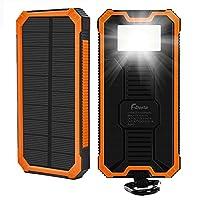15000mAh Solar Charger, F.Dorla Portable...