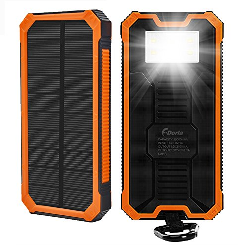 Solar Usb Charger With Battery Backup - 6