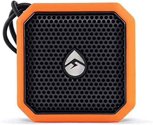 ECOXGEAR EcoPebble Lite GDI-EXPLT500 Rugged Waterproof Floating Portable Bluetooth Wireless 5-Watt Mini Smart Speaker Orange