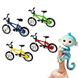 Interactive Monkey Bicycle,ABC® for Finger Monkey Climbing Stand Cycling Bicycle