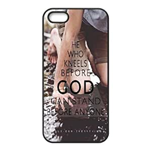 Personalized Christian Quotes Iphone 5,5S Case, Christian Quotes Customized Case for iPhone 5,iPhone 5s at Lzzcase WANGJING JINDA