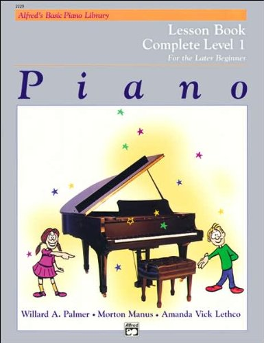 Piano Lesson Book (text only) 3rd (Third) edition by A. V. Lethco,M. Manus,W. Palmer