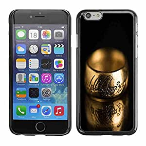 """Shell-Star ( Cool Ring Engraved ) Fundas Cover Cubre Hard Case Cover para 4.7"""" iPhone 6"""