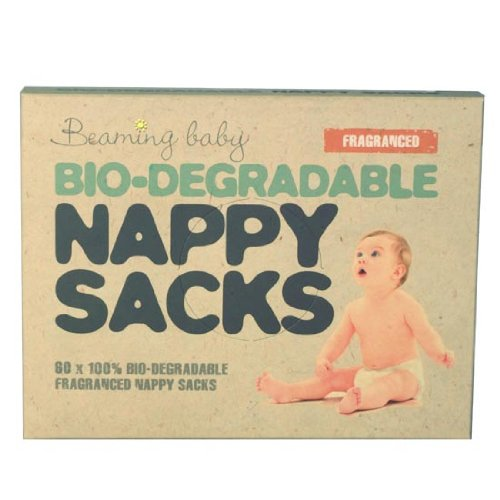 Bio-degradable Nappy Sacks FRAGRANCED Beaming Baby