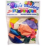 PUMPONATOR MB912 9-Inch and 12-Inch Big Balloons