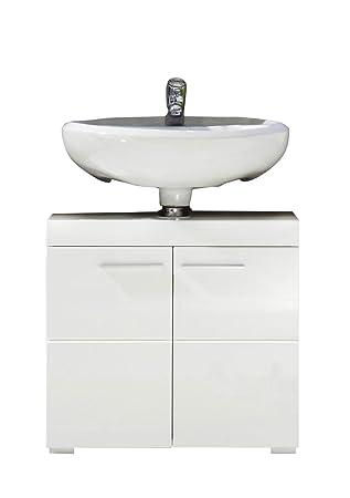Trendteam Smart Living Badezimmer Waschbeckenunterschrank Unterschrank  Amanda, 60 X 56 X 34 Cm In Weiß