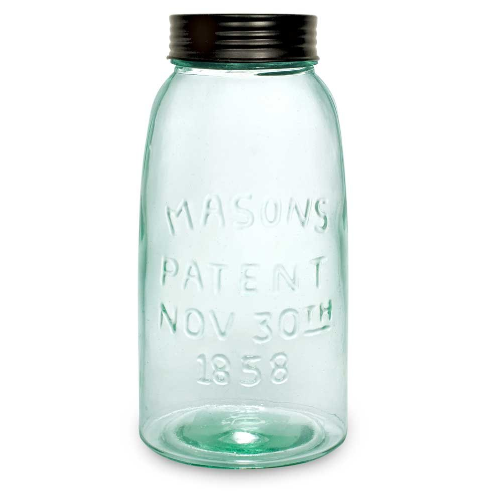 CTW Half Gallon Mason Jar with Lid