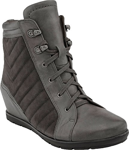 Earth Women's Limburg Earthies Charcoal Suede Boot 8.5 M