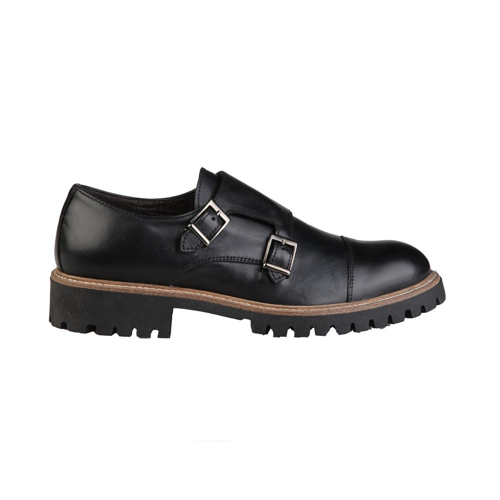TALLA 43 EU. Made In Italia Shoes - Zapatos Monkstrap Hombre