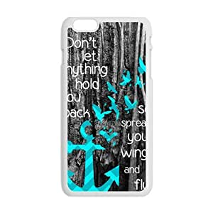 Don't Let Anything Hold You Back Hot Seller Stylish Hard Case For Iphone 6 Plus