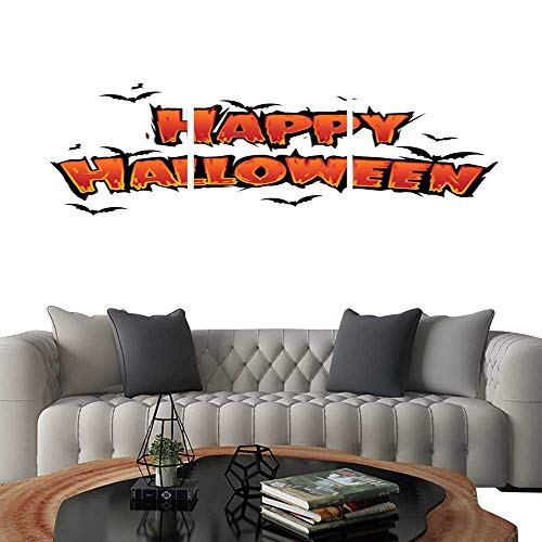 UHOO 3 Piece Wall Art Painting Happy Halloween
