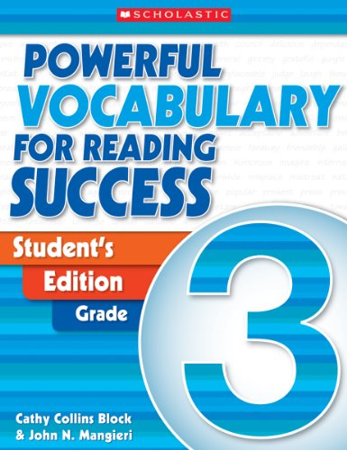 Powerful Vocabulary for Reading Success: Student Workbook, Grade (Scholastic Powerful Vocabulary)