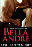Front cover for the book One Perfect Night by Bella Andre