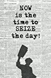 #8: Now is the Time to Seize the Day!: Blank Journal & Musical Theater Quote