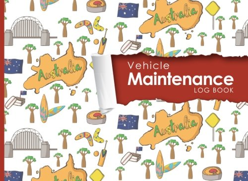 "Read Online Vehicle Maintenance Log: Repairs And Maintenance Record Book for Cars, Trucks, Motorcycles and Other Vehicles with Parts List and Mileage Log, Cute ... x 6"" (Vehicle Maintenance Logs) (Volume 97) ebook"