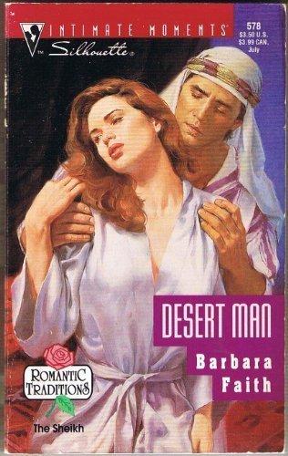 book cover of Desert Man
