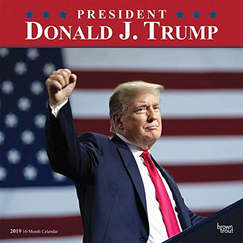 President Donald J. Trump 2019 12 x 12 Inch Monthly Square Wall Calendar, Celebrity Apprentice President Trump Tower Republican POTUS