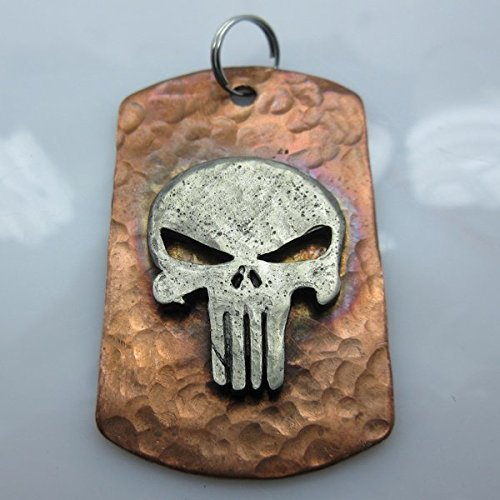 - Jig Pro Shop Punisher Lanyard/Paracord Dog Tag in Copper with Pewter by Marco Magallona