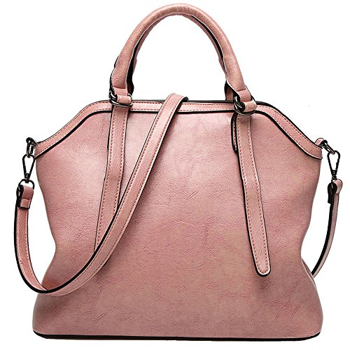 Purse Handle Pink Satchel Handbag All Tote match Bag Women Bag Shoulder FiveloveTwo wqHFZxBYZ