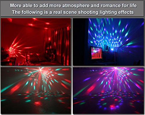 Spriak Party Kids Lights Supplies Sound Activated Color Led - Bedroom disco lights
