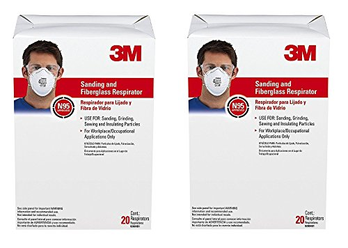 3M 8200 Particulate Respirator N95, 2 Boxes of 20 (40) by 3M (Image #2)