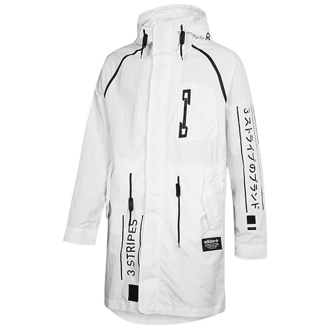 adidas NMD d Utility J Giacca, Uomo, Bianco (Bianco