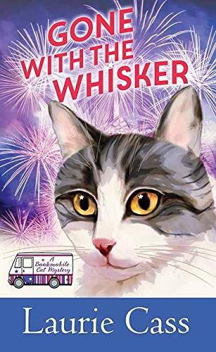 Book Cover: Gone with the Whisker: A Bookmobile Cat Mystery