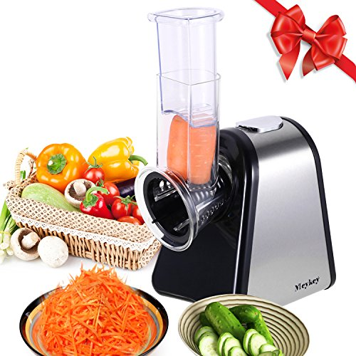 Best Buy! MeyKey Professional Salad Maker Electric Slicer Shredder