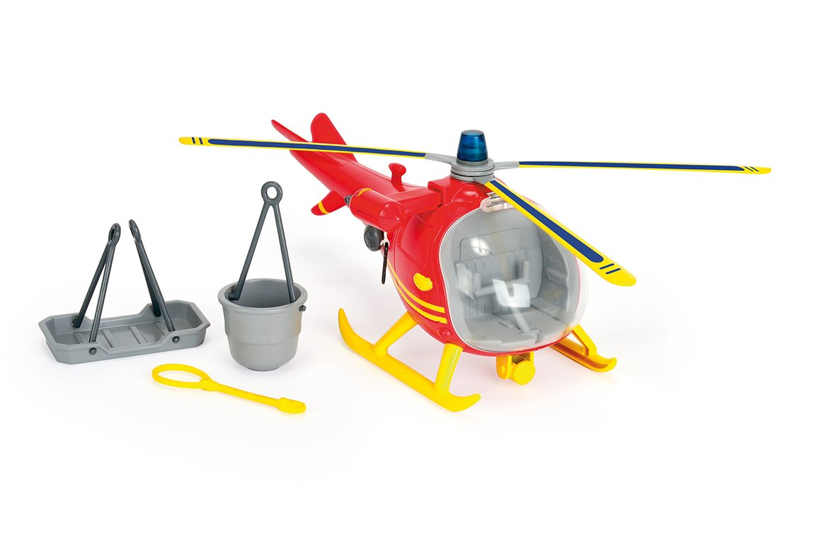 Smoby - 7/109251661002N - Sam le Pompier - Océan Hélicoptère - + 4 Accessoires - + 1 Figurine Incluse