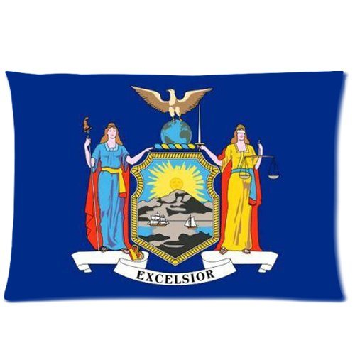 newyork seal flag background cotton