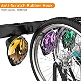 TORACK Bike Storage Rack, 6 Bike Rack & 5 Hooks for