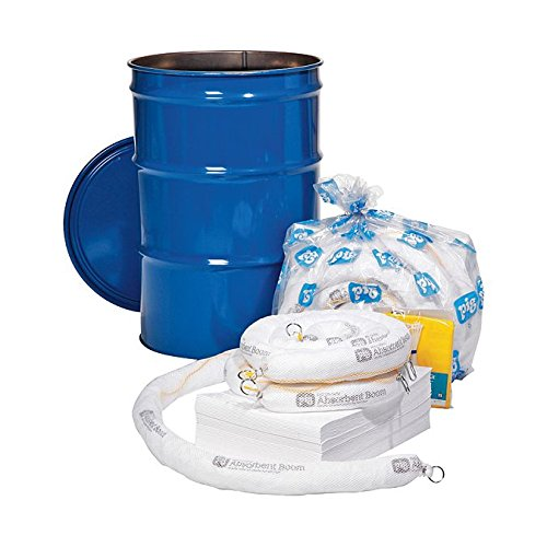 New Pig KIT408-01 87 Piece Oil-Only Spill Kit in Economy Container, 34 Gallon Absorbency
