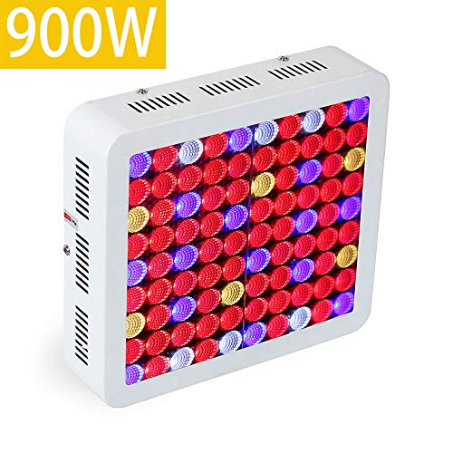 Wattshine LED Grow Light 900W High PAR Value Hydroponics System Lighting, Full Spectrum for Indoor Plants Veg and Flower Growing For Sale