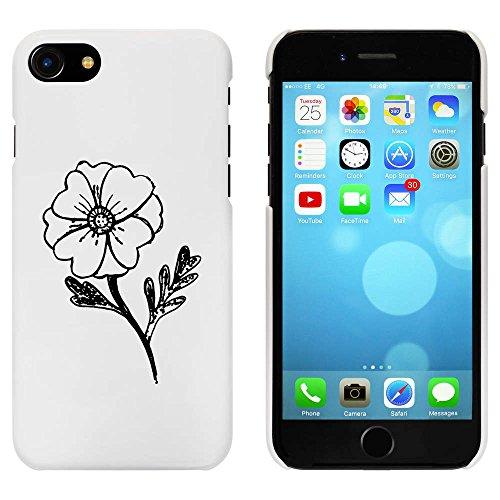 Blanc 'Fleur' étui / housse pour iPhone 7 (MC00076468)