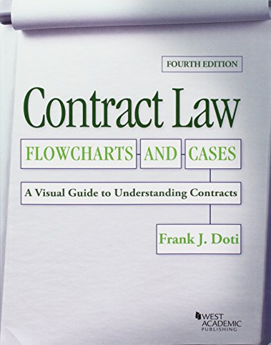 Contract Law, Flowcharts and Cases, A Visual Guide to Understanding Contracts (Coursebook)