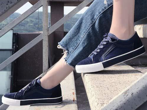 Sportive Da Scarpe Ysfu Donna Basse Tacco Con Comode Sneaker Alto 8AZqwOZfx