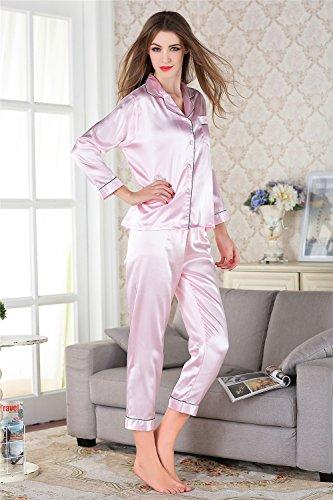 Aibag - Conjunto de lencería - para mujer Rosa