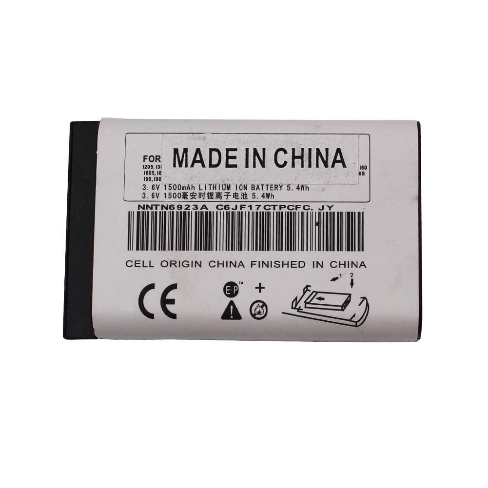 NNTN6923A NNTN4655B Li-ion Battery for Motorola MTH650 MTH800 DTR620 DTR410 DTR510 DTR550 DTR650 DTR2430 DTR2450 i325 1500mAh by RaddioAcery