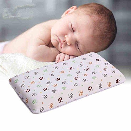 Neu Babykopfkissen Lagerungskissen gegen Kopfverformung Kopf St¨¹tz 0-3 Jahre niedlich Pilz hohe Qualit?t 51*29*2.5