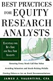 img - for Best Practices for Equity Research Analysts: Essentials for Buy-Side and Sell-Side Analysts (Professional Finance & Investment) book / textbook / text book